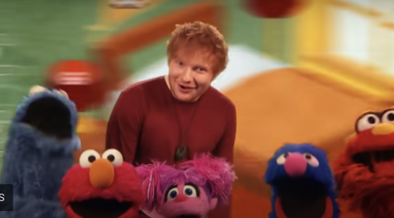 How'd I Miss Ed Sheeran Singing About How School and Home Differ on Sesame Street?